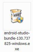 Android Studio インストーラ