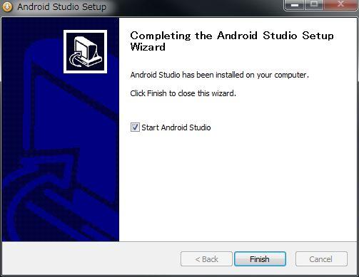 Android Studio インストール (7)